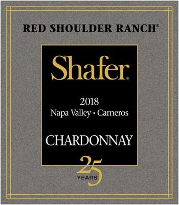 Shafer Chardonnay Red Shoulder Ranch 2018
