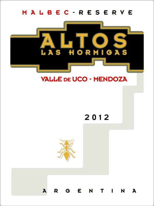 Altos Las Hormigas Malbec Reserva 2012