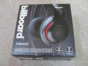 Billboard BB430  Bluetooth Black Headphones