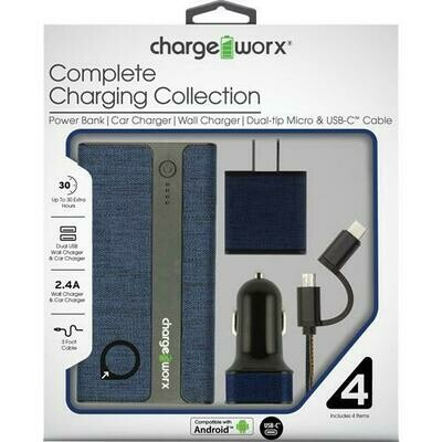 Charge Worx Complete Charging Collection