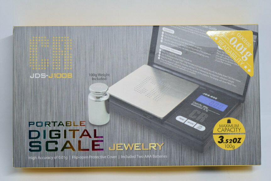 CR JDS_J100B Portable Digital Scale