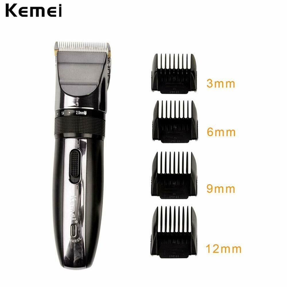 Men's Electric Rechargeable Hair Clipper Cordless Hair Removal Shavers Portable Precision Shaving Razors Adjustable Low Noise Hair Trimmers Professional Hair Cutting Kit