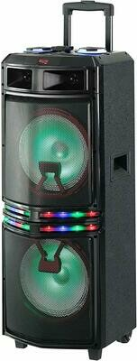 QFX PBX-3103 10-inch portable speaker with Bluetooth for Party