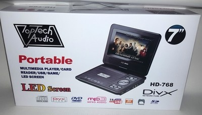 Toptech Audio HD-768 DVD player