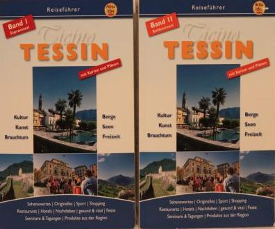 Reiseführer Tessin - 2 Bände