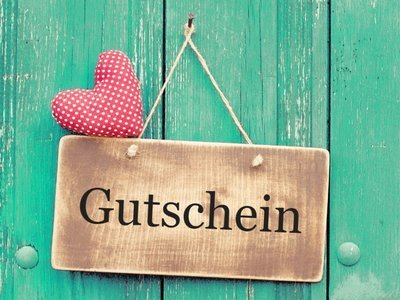 Massage gift card value 100 chf