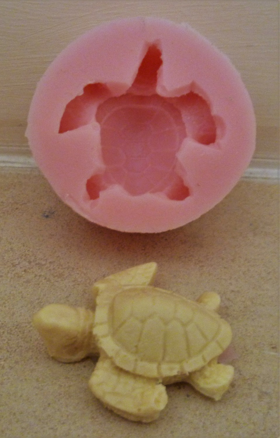 3D TURTLE SILICONE MOULD