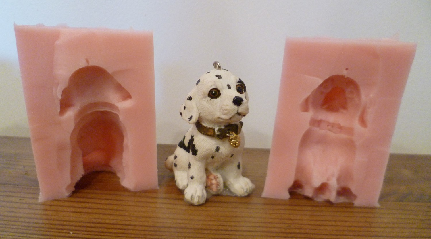 NEW 3D DALMATION SILICONE MOULD