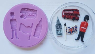 BRITISH SILICONE MOULD