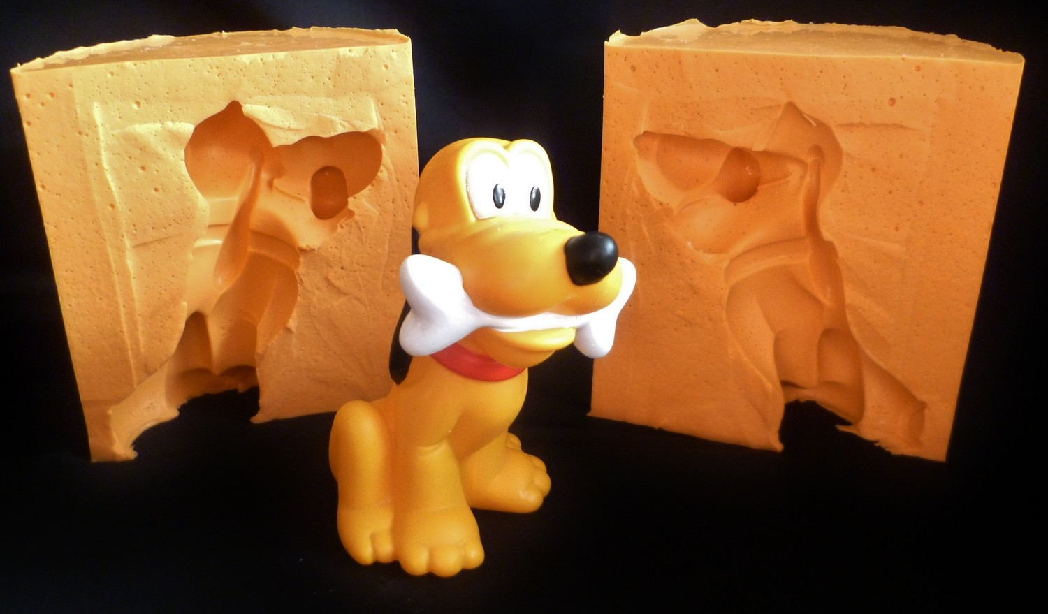 LARGE PLUTO 3D SILICONE MOULD