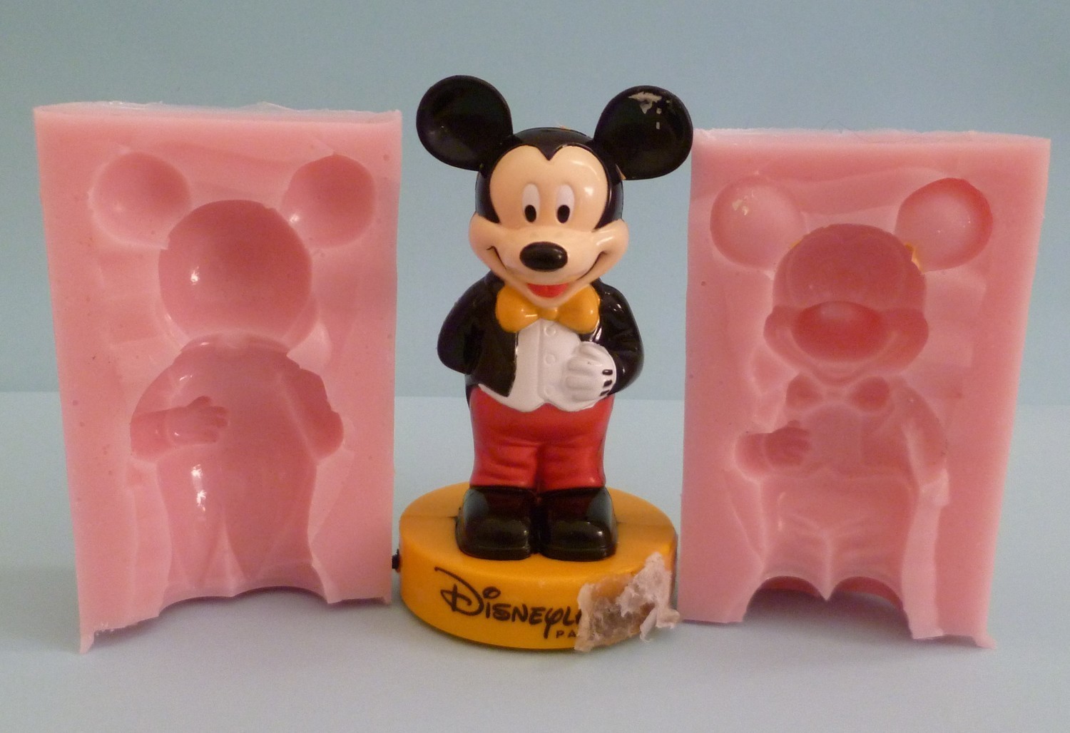 3D 8CM MICKEY MOUSE SILICONE MOULD