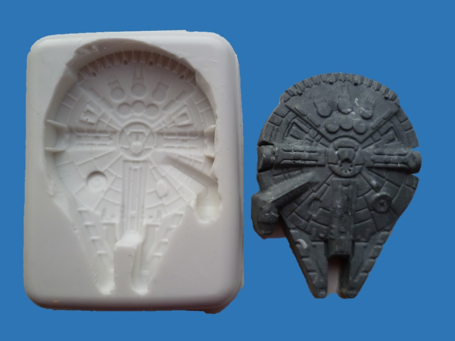 STAR WARS MILLENNIUM FALCON SILICONE MOULD
