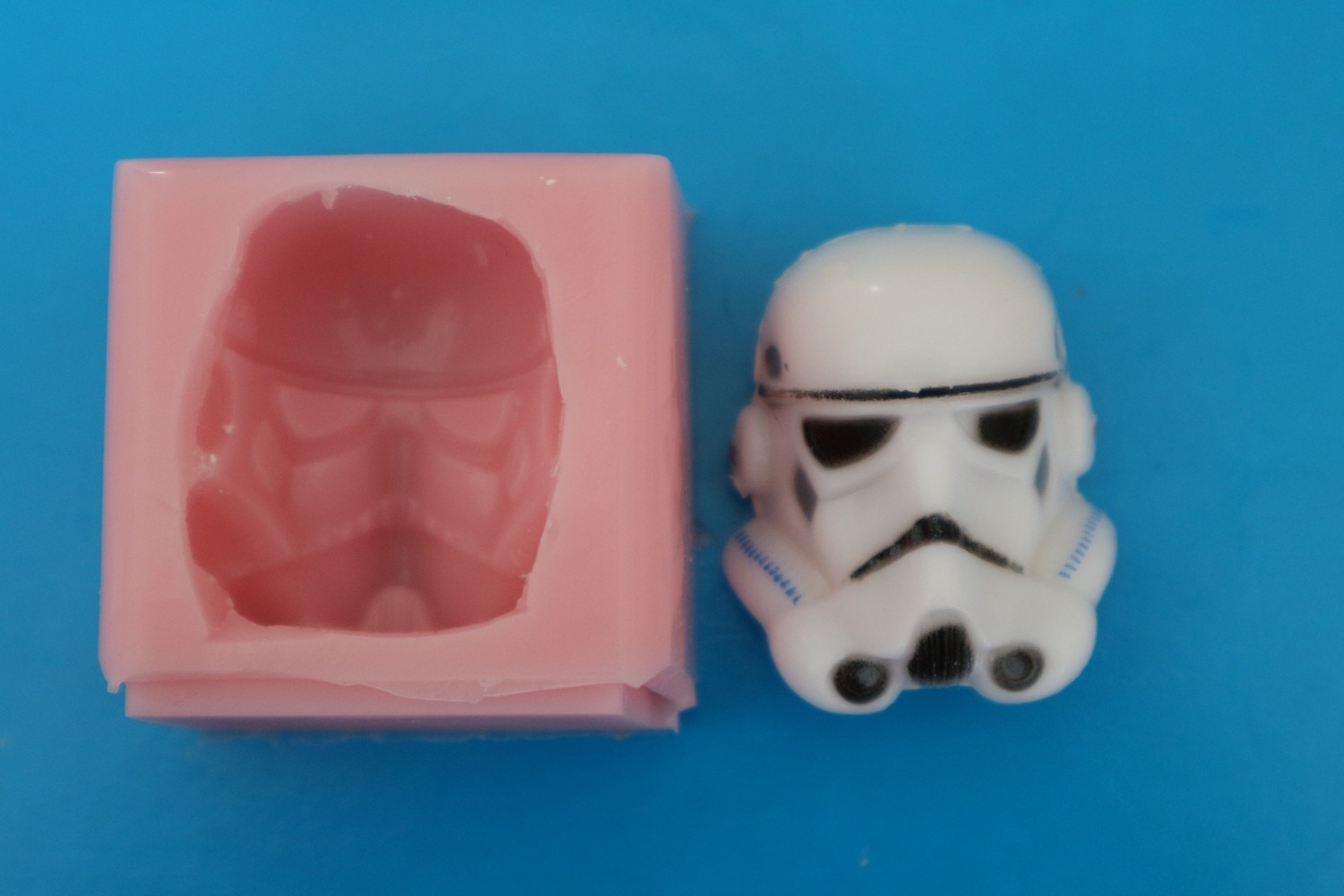 STAR WARS TROOPER HEAD SILICONE MOULD