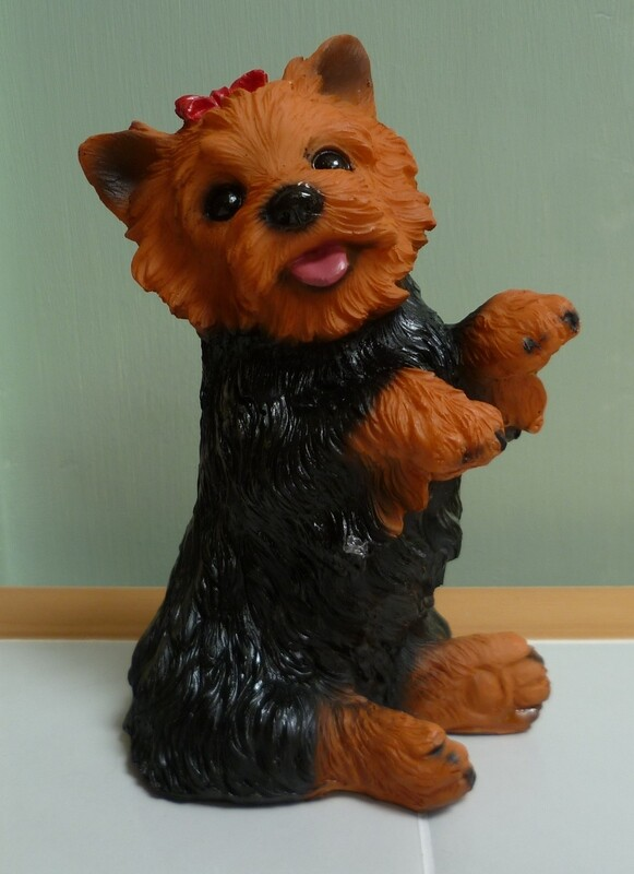 3D YORKSHIRE TERRIER 002 SILICONE MOULD
