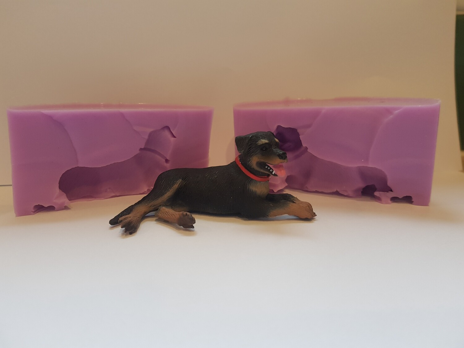3D ROTTWEILER SILICONE MOULD