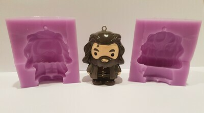 HARRY POTTER INSPIRED HAGRID 3D SILICONE MOULD