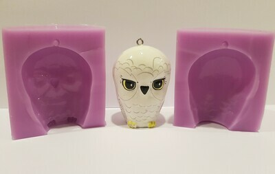HARRY POTTER INSPIRED HEDWIG OWL 3D SILICONE MOULD