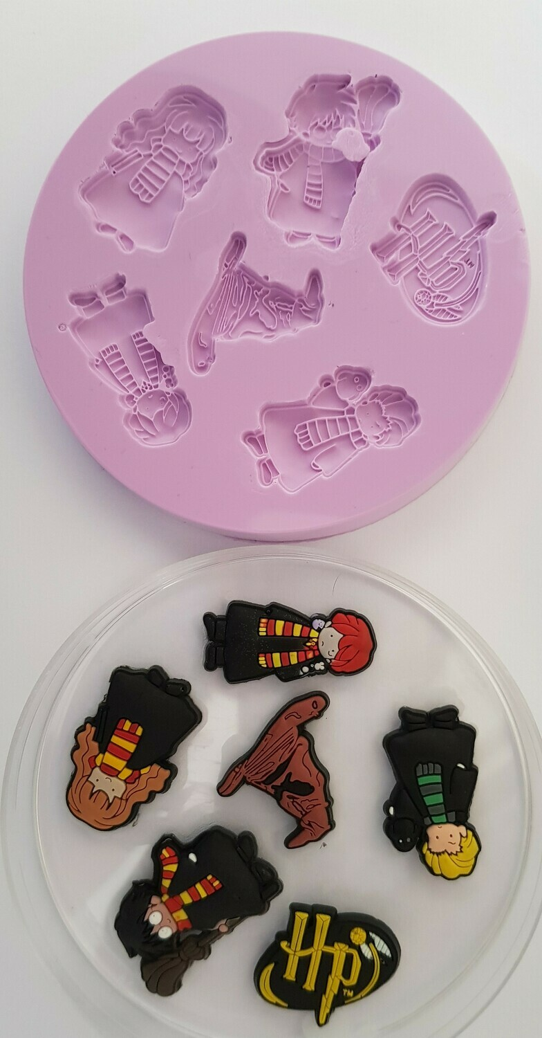 HARRY POTTER INSPIRED CHARACTERS SILICONE MOULD