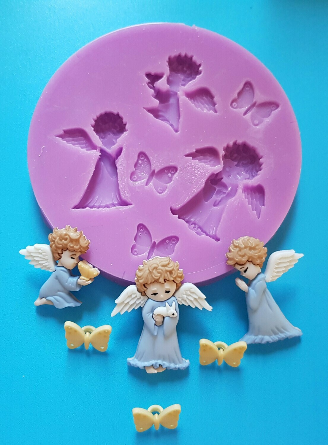 ANGELS CHERUBS SILICONE MOULD