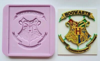 HARRY POTTER INSPIRED HOGWARTS FANCY CREST SILICONE MOULD