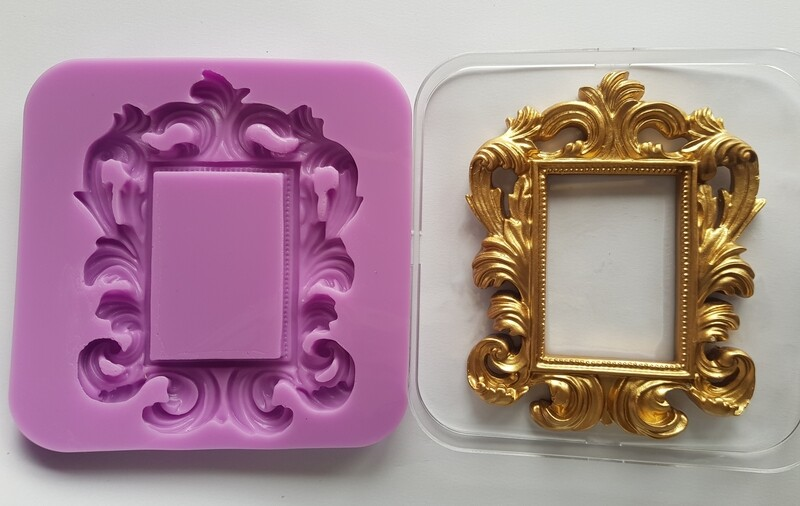 ORNATE Rectangle FRAME SILICONE MOULD