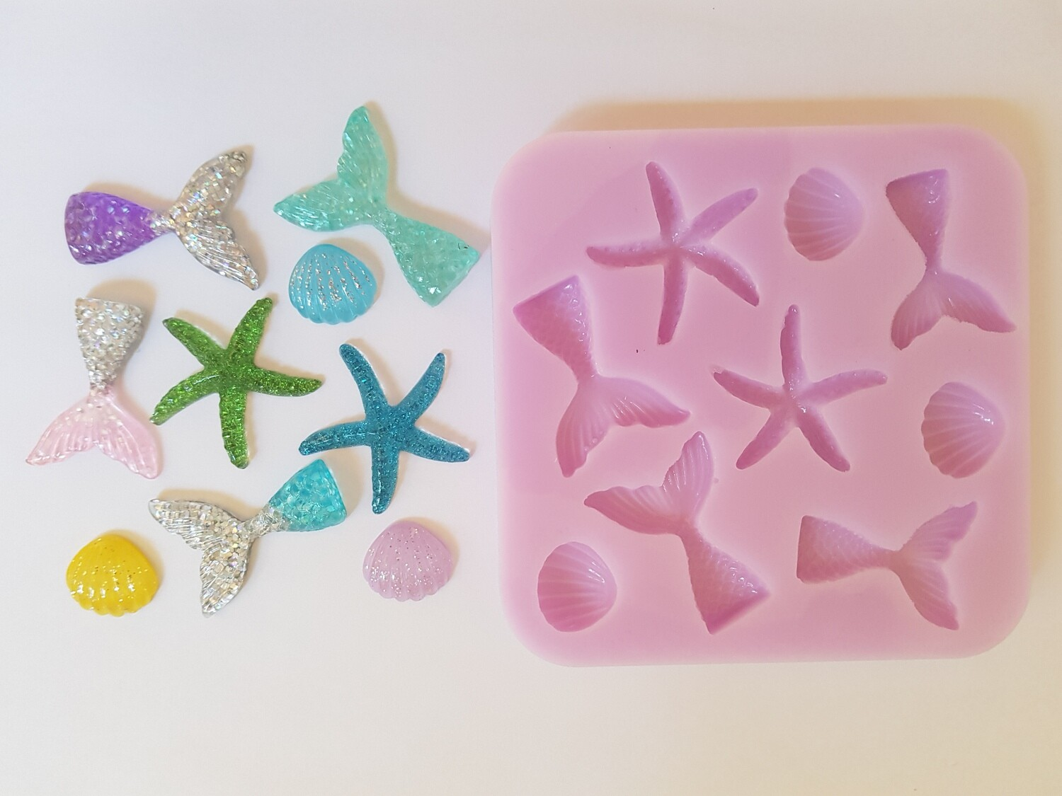 SEA LIFE SET SILICONE MOULD