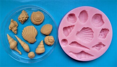 SEASHELL SET 002 SILICONE MOULD