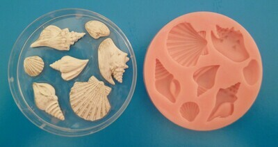 SEASHELL SET SILICONE MOULD
