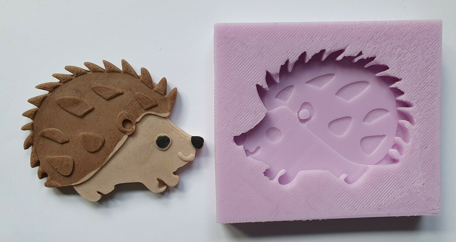 HEDGEHOG SILICONE MOULD