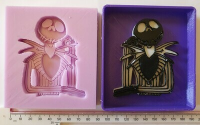 NEW NIGHTMARE BEFORE CHRISTMAS JACK  SILICONE MOULD