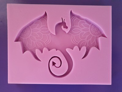 MANDALA DRAGON SILICONE MOULD