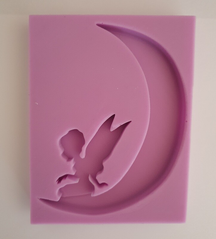FAIRY MOON SILICONE MOULD