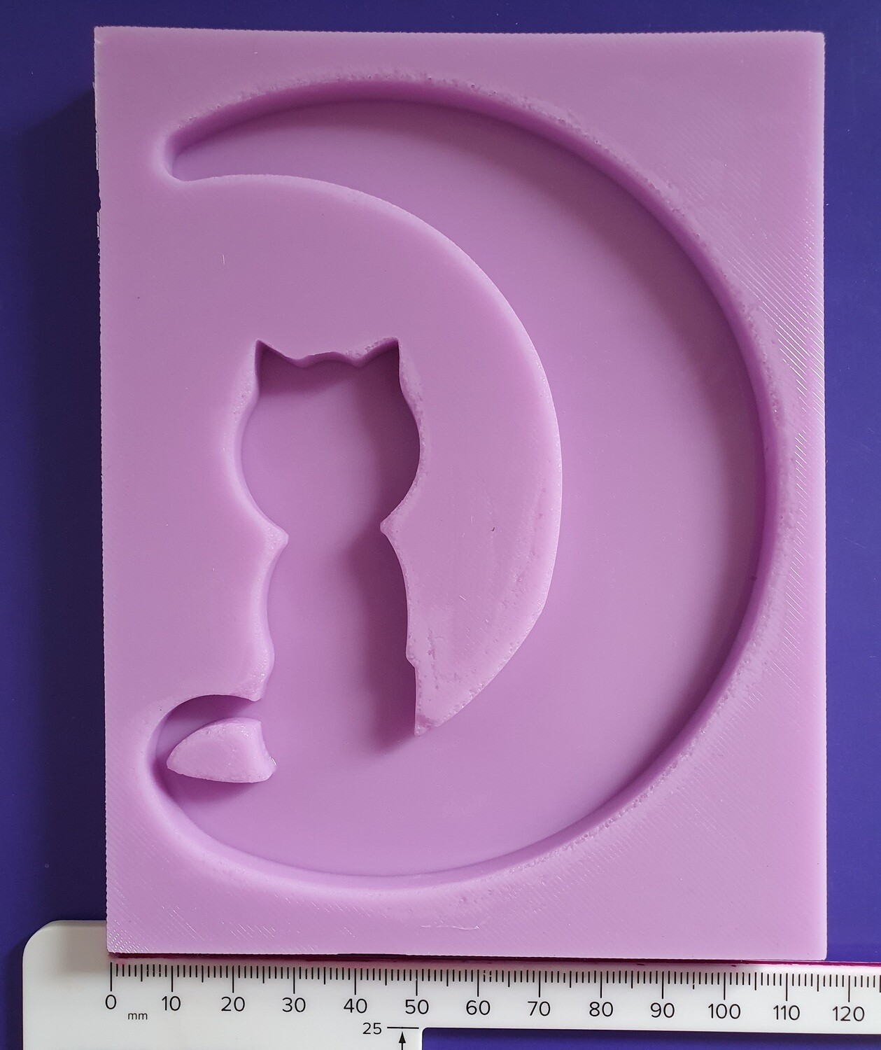 CAT MOON 001 SILICONE MOULD