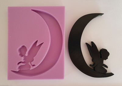 SMALL FAIRY MOON SILICONE MOULD