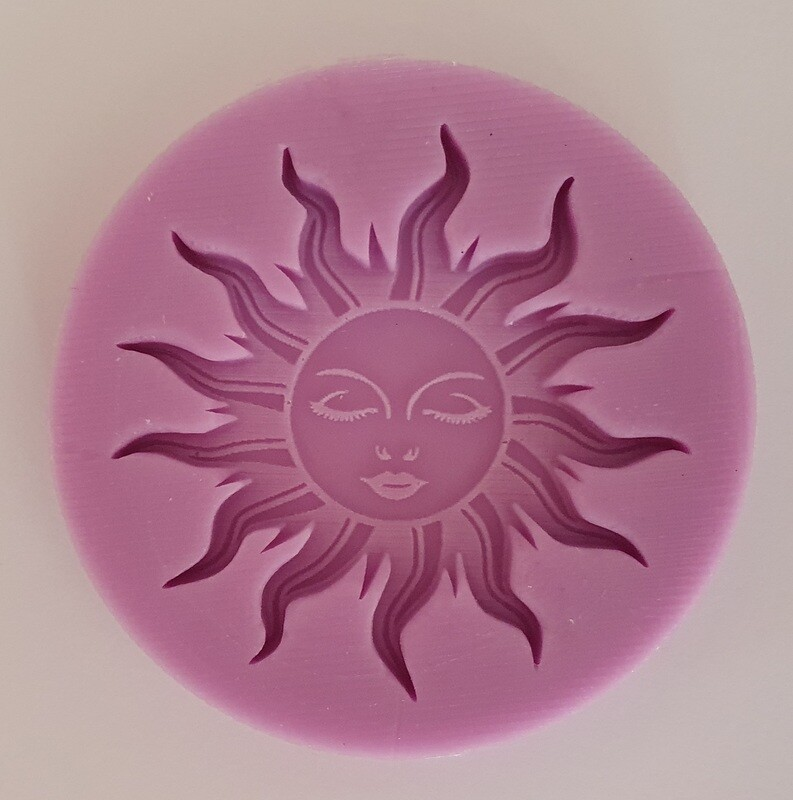 SMALL SUN SILICONE MOULD