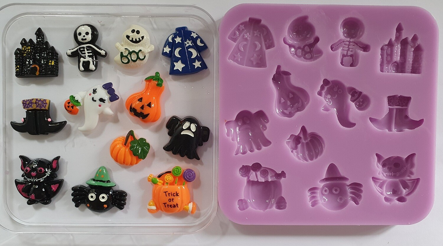Halloween set 001 Silicone Mould