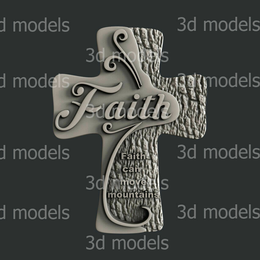 FAITH CROSS SILICONE MOULD