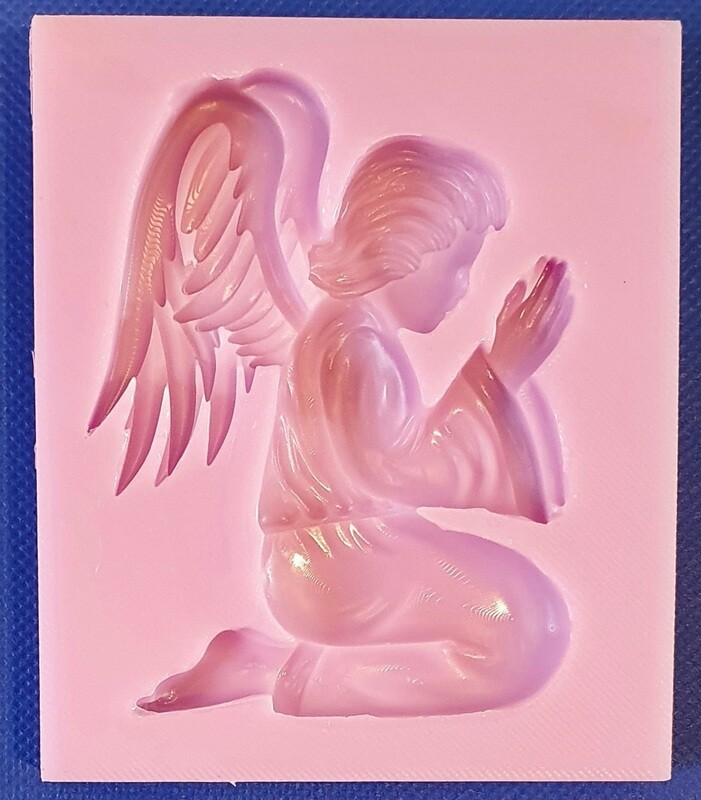 PRAYING ANGEL SILICONE MOULD