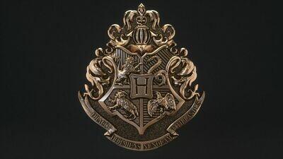 HARRY POTTER INSPIRED HOGWARTS CREST SILICONE MOULD
