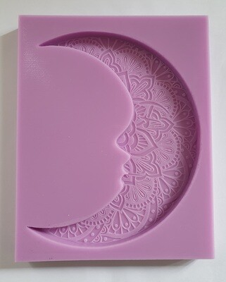 LARGE CELTIC OWL SILICONE MOULD