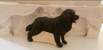 3D newfoundland SILICONE MOULD
