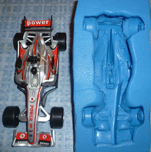 F1 RACING CAR 3D SILICONE MOULD