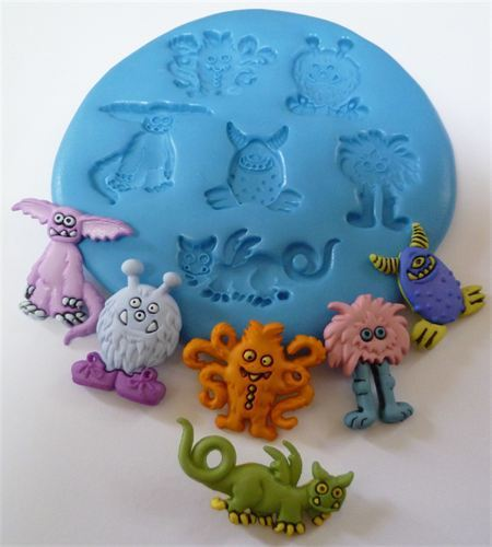MONSTERS SILICONE MOULD