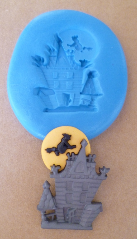 Halloween Haunted House Silicone Mould