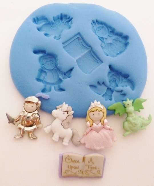 ONCE UPON A TIME SILICONE MOULD