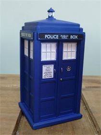 3D TARDIS SILICONE MOULD