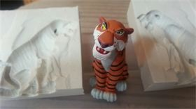 3D SHERE KHAN SILICONE MOULD
