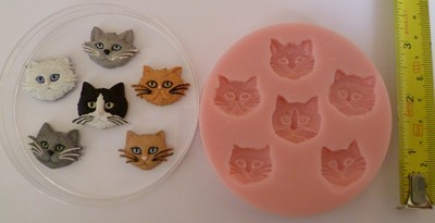 CAT SET SILICONE MOULD