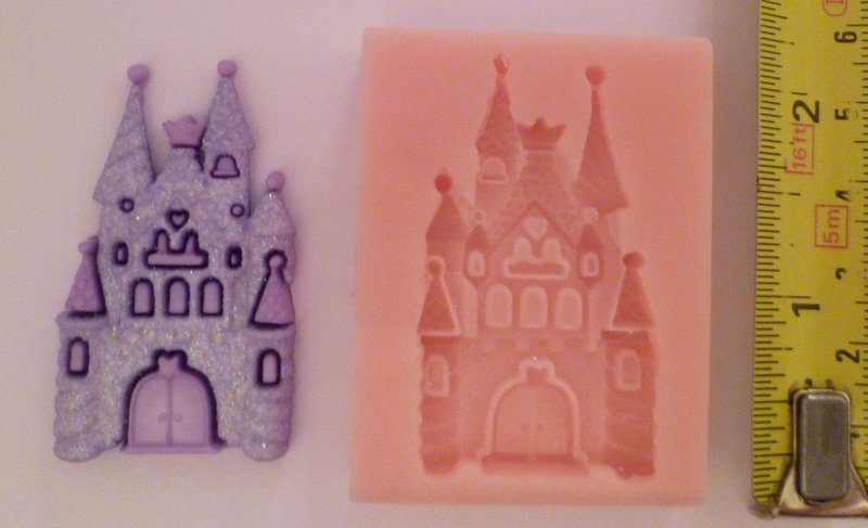FAIRYTALE CASTLE SILICONE MOULD