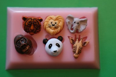 ZOO LIFE SILICONE MOULD